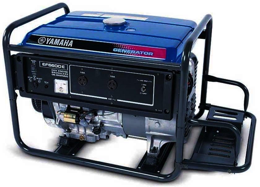 Генератор Yamaha  EF6600E в Грязие